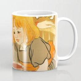 """Théophile Steinlen """"Compagnie Française des Chocolats et des Thès"""" Coffee Mug"""
