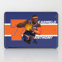 nba iPad Cases featuring NBA Stars: Carmelo Anthony by Akyanyme
