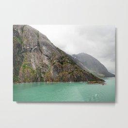 Endicott Arm Mountains Metal Print