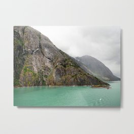 Endicott Arm Mountains Metal Print