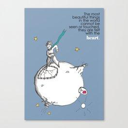 THE LITTLE PRINCE -le petit prince- Canvas Print