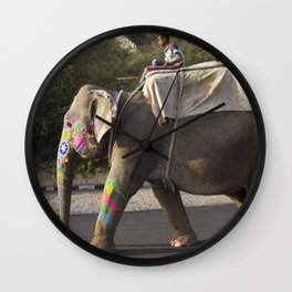 Holy Elephant Wall Clock