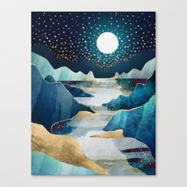 Moon Glow Canvas Print