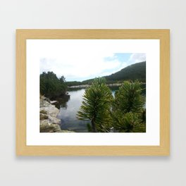 In the mountain Framed Art Print