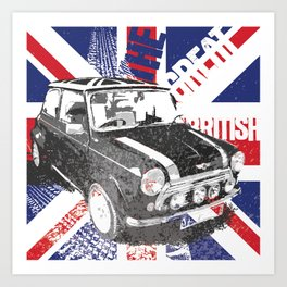 the great british Art Print