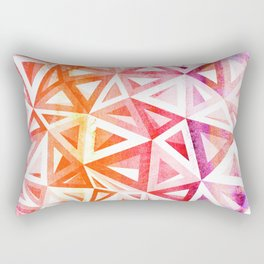 Bermuda Triangle Sunset Rectangular Pillow