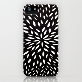White Floret iPhone Case