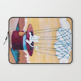 The cat traveling in dreams Laptop Sleeve