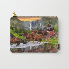 Wells Fargo Stagecoach Carry-All Pouch