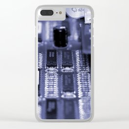 Motherboard Clear iPhone Case