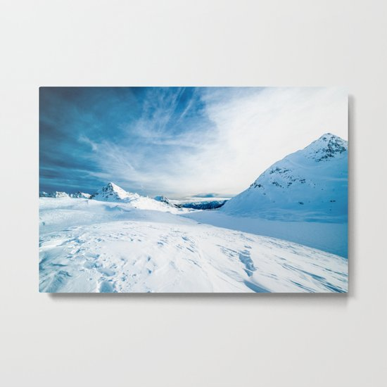 Mountain ice 2 Metal Print
