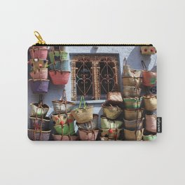 blue town morocco Carry-All Pouch