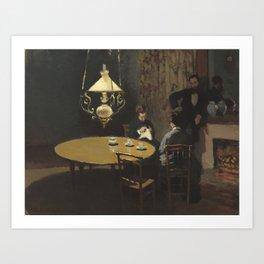 Interior after Dinner Art Print