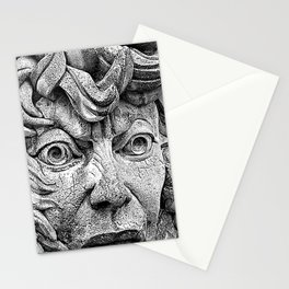Fountain Face  Stationery Cards