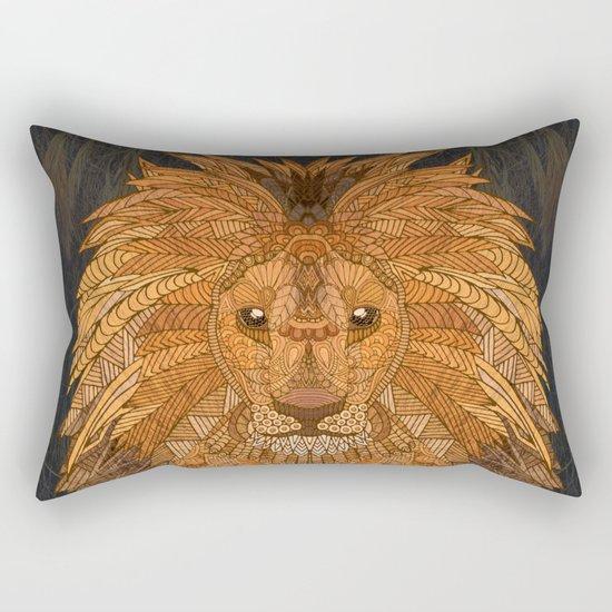 King Lion Rectangular Pillow