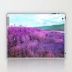 Wild Sunflowers by the Road Laptop & iPad Skin