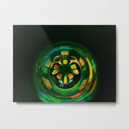 Techno Ball; Jungle Tech. Metal Print