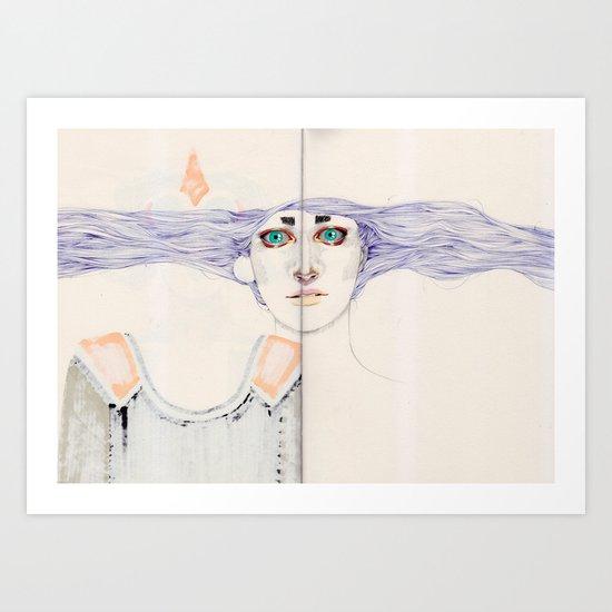 Overdone Art Print