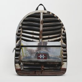 International Truck Grill, Truck Grill, Old Truck Backpack