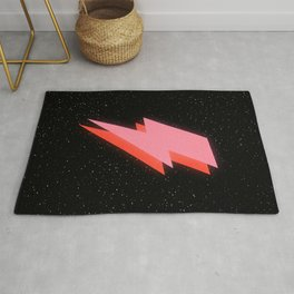 Thunderbolt: Glowing Astro Edition Rug