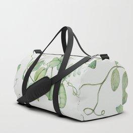Floating Peas Duffle Bag