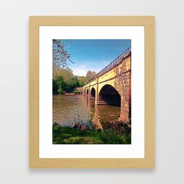 Monocacy Canal Framed Art Print