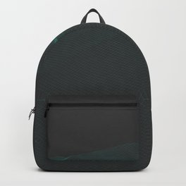 Mountain wireframe art Backpack
