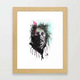 RIOT girl Framed Art Print