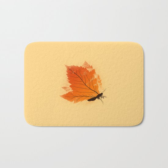 Seasons change - T-shirt Bath Mat