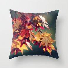 Oh, October. Throw Pillow