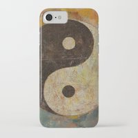 yin yang iPhone & iPod Cases featuring Yin Yang by Michael Creese