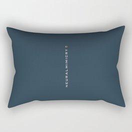 ..just neuralmimicry no.3 Rectangular Pillow