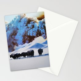 Buffalo Blast Stationery Cards