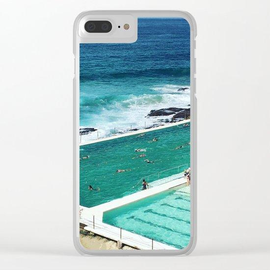 Bondi living Clear iPhone Case