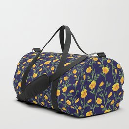 California Gold Rush (Poppies) Duffle Bag