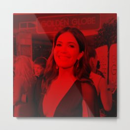 Mandy Moore - Celebrity (Photographic Art) Metal Print