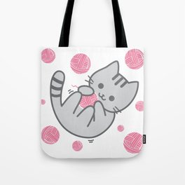 Cat Fun Time Tote Bag