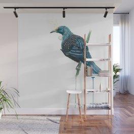 The Parson Bird aka Tui Wall Mural