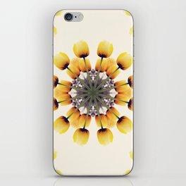 Tulips Mandala II iPhone Skin