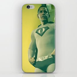 super obama iPhone Skin