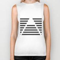 pyramid Biker Tanks featuring Pyramid by Justin Yanke