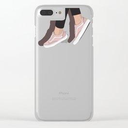 Dangling Vans Clear iPhone Case