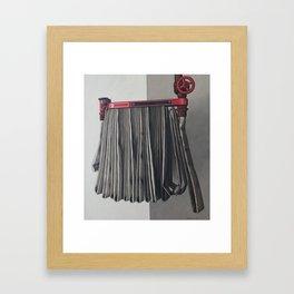 Artaud Fire Hose Framed Art Print