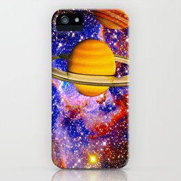 Stars and Planets iPhone Case