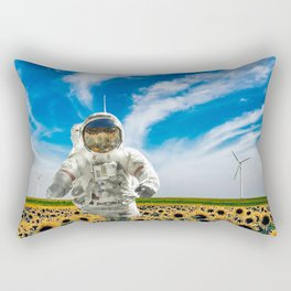 63 Messier Galaxy Rectangular Pillow