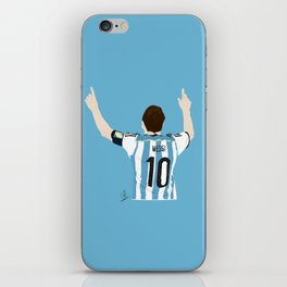 Leo Messi - Argentina iPhone Skin
