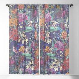 FUTURE NATURE XIII Sheer Curtain