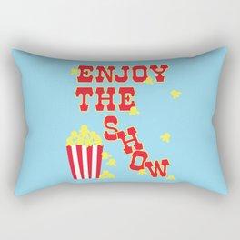 ENJOY THE SHOW - POPCORN PARTY Rectangular Pillow
