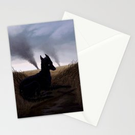 Grim Fields Stationery Cards
