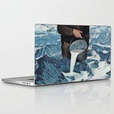 Milky Mountain Laptop & iPad Skin